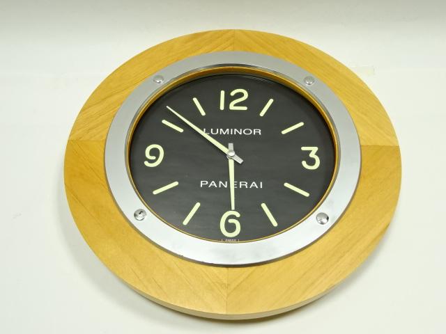 save off 80821 539f5 オフィチーネパネライのウッド掛け時計の入荷でございます ...